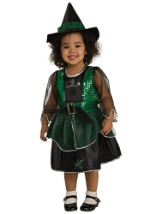 Sold Out For 2018 Toddler Witch Costume  sc 1 st  Halloween Costume & Child Deluxe Witch Costume - Wizard of Oz Costumes for Girls