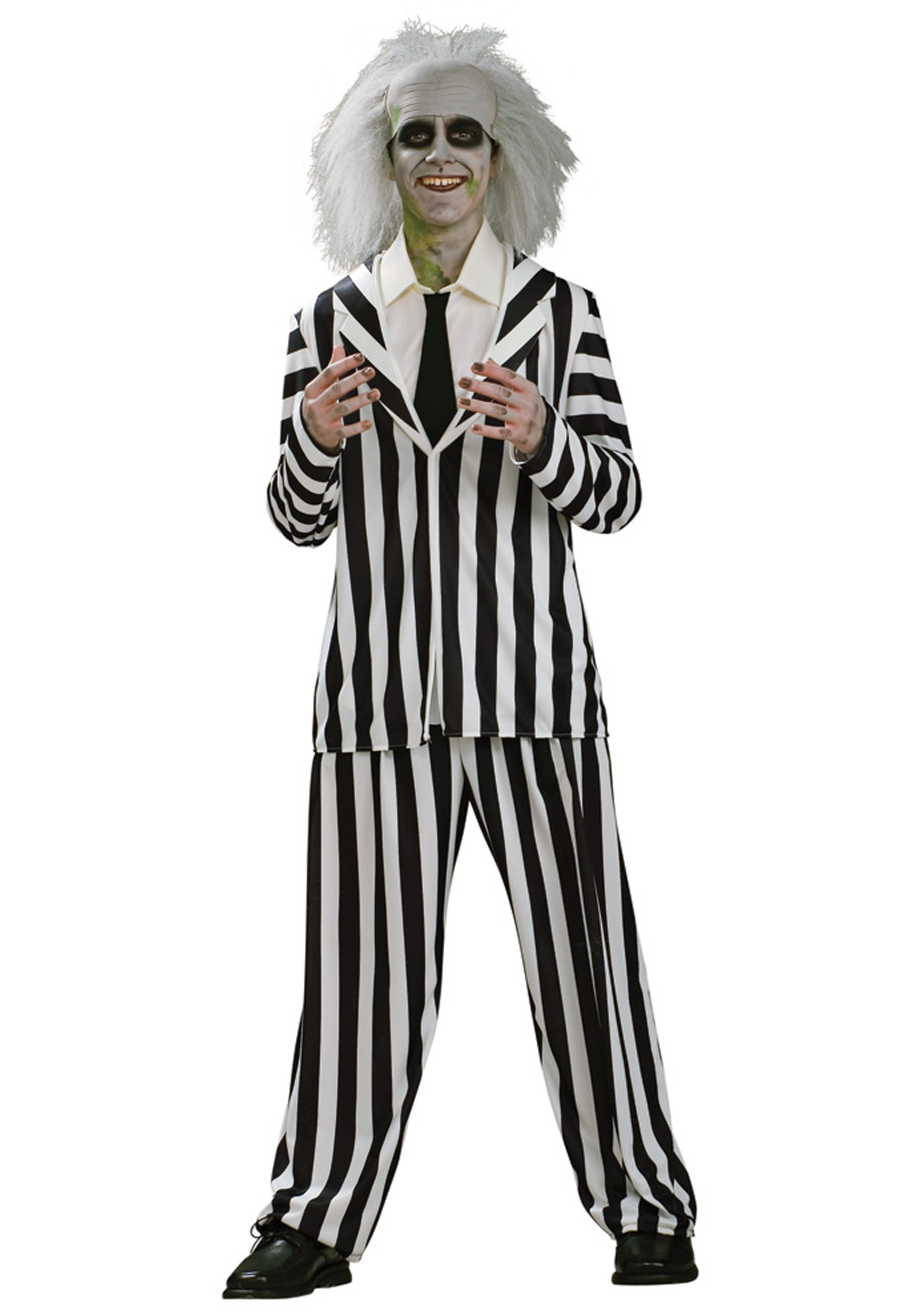 Boys Teen Beetlejuice Costume  sc 1 st  Halloween Costume & Boys Teen Beetlejuice Costume - Scary Halloween Costumes for Teens