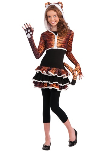 Tween Tigress Costume
