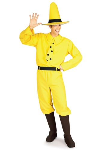 Man in the Yellow Hat Storybook Costume