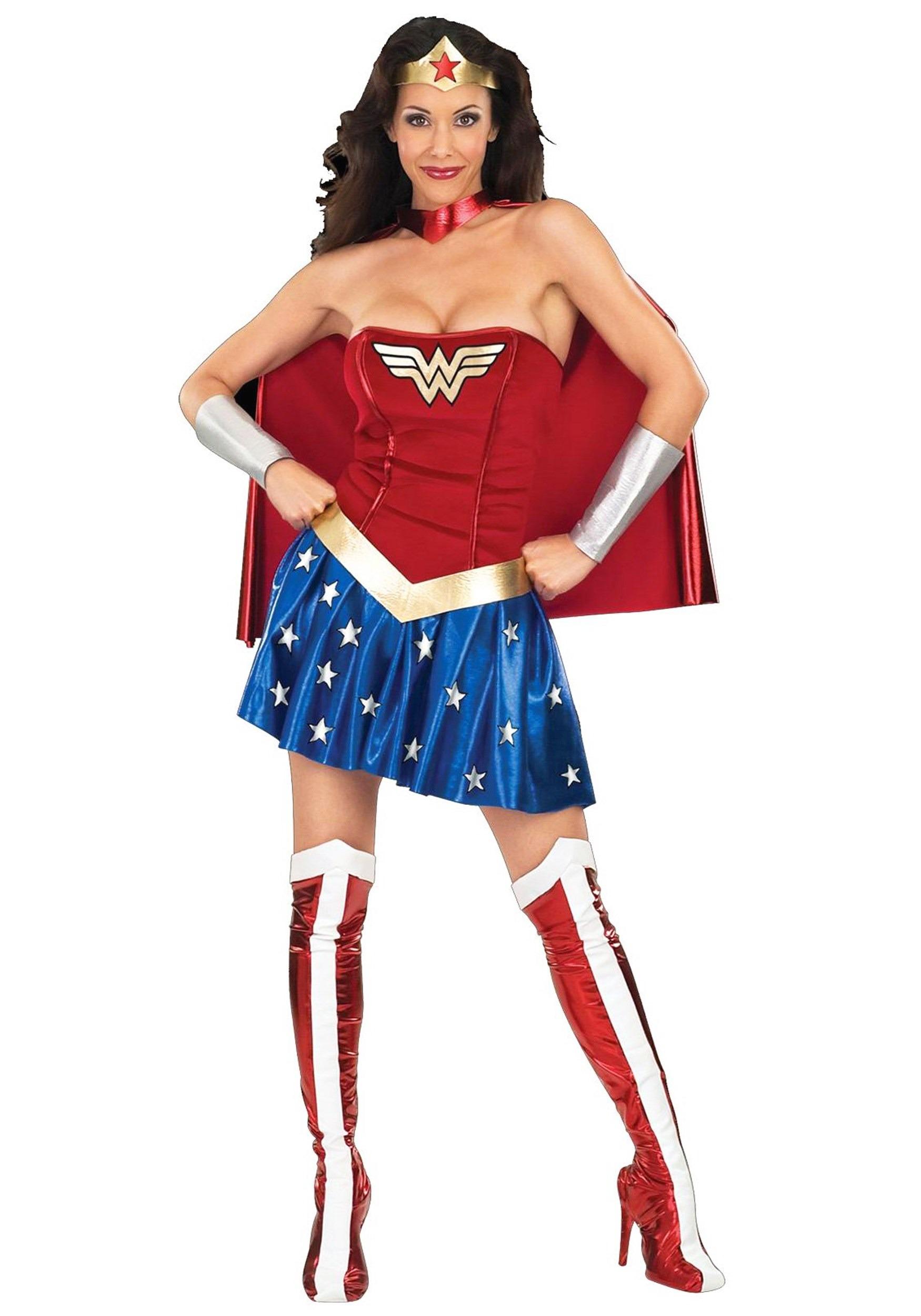 Wonder Woman Costume  sc 1 st  Halloween Costume & Wonder Woman Costume - Adult Halloween Wonder Woman Costumes