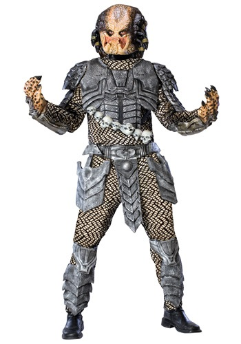Mens Deluxe Predator Costume