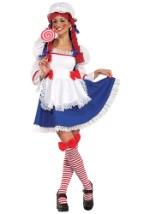 Adult Cheery Rag Doll Costume