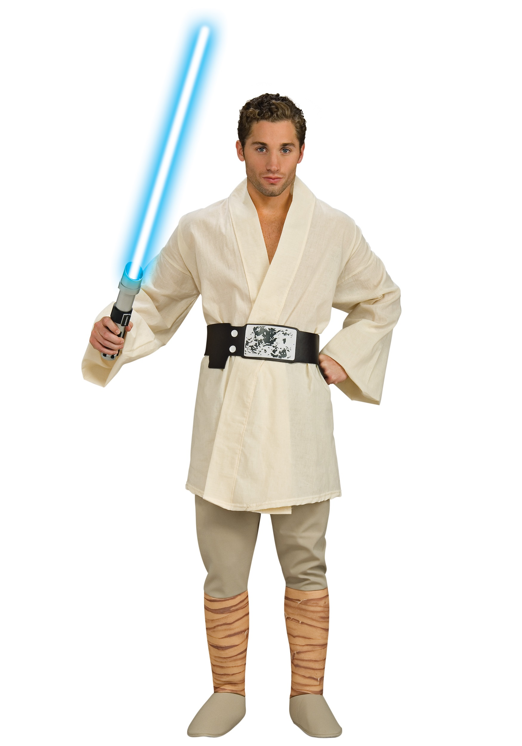 deluxe luke skywalker costume - adult star wars halloween costumes