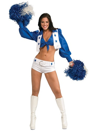 Sexy Dallas Cheerleader Costume