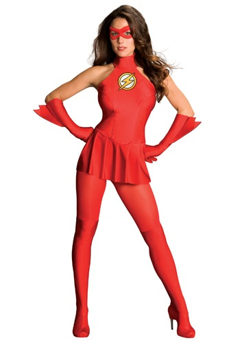 Sexy Lady Flash Costume