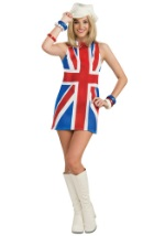 Sexy Womens British Invasion Costume