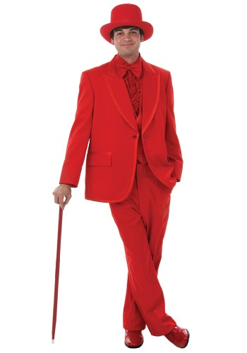 Formal Red Tuxedo