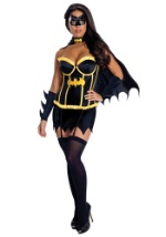 Ladies Batgirl Corset Costume