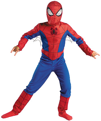 Child Spectacular Spiderman Costume